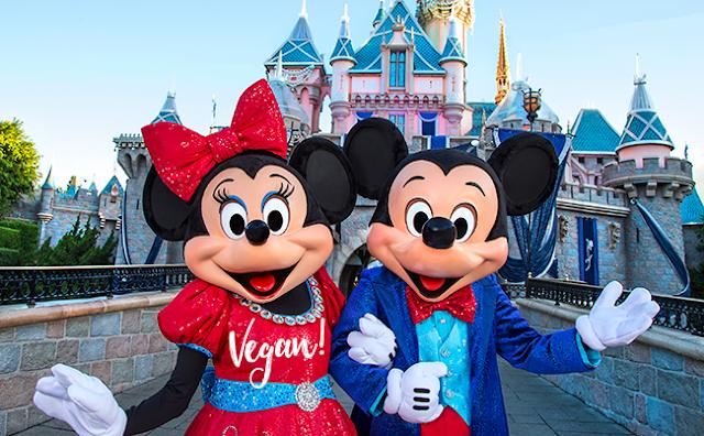 Una guía vegana a Disneylandia