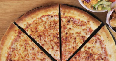 Reino Unido: Pizza Hut agrega pastel de queso vegano en 250 ubicaciones