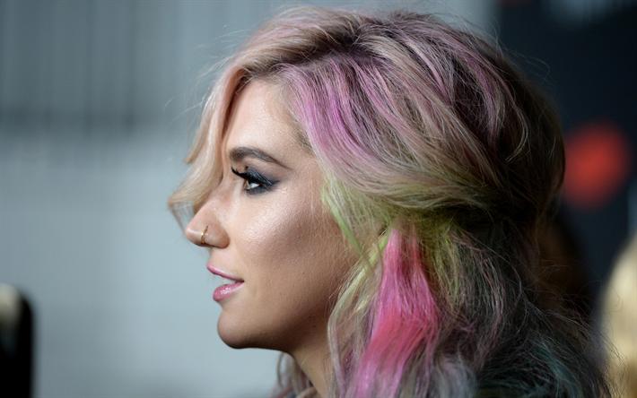 """La estrella del pop """"Kesha"""" lanza su línea vegana de maquillaje"""
