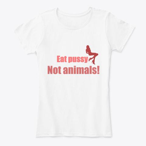 eat pussy not animals polo vegano vegayvege