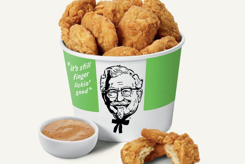 KFC agrega a su menú permanente el sandwich de pollo vegano en Canadá
