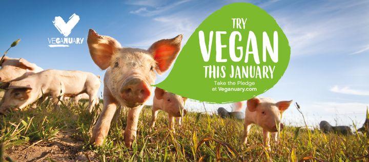 """La campaña vegana """"Veganuary"""" llegará a Estados Unidos en 2020"""