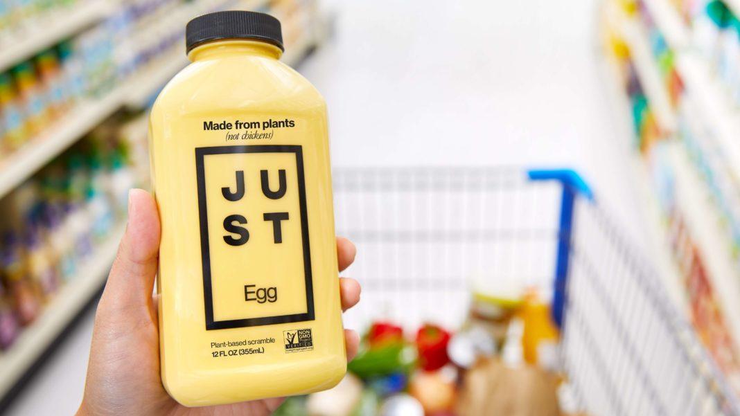 just egg huevo vegano en estados unidos