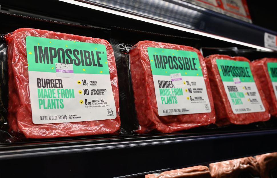 Impossible Foods recauda más de $1.3 mil millones para producir carne vegana