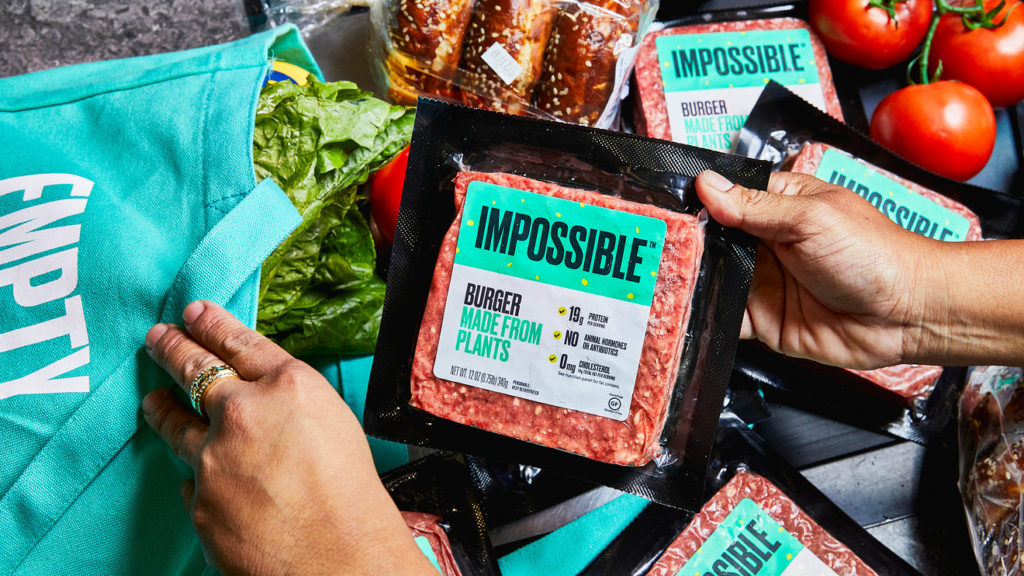 "La marca ""Impossible Foods"" recaudó $1.3 mil millones para producir más carne vegana"