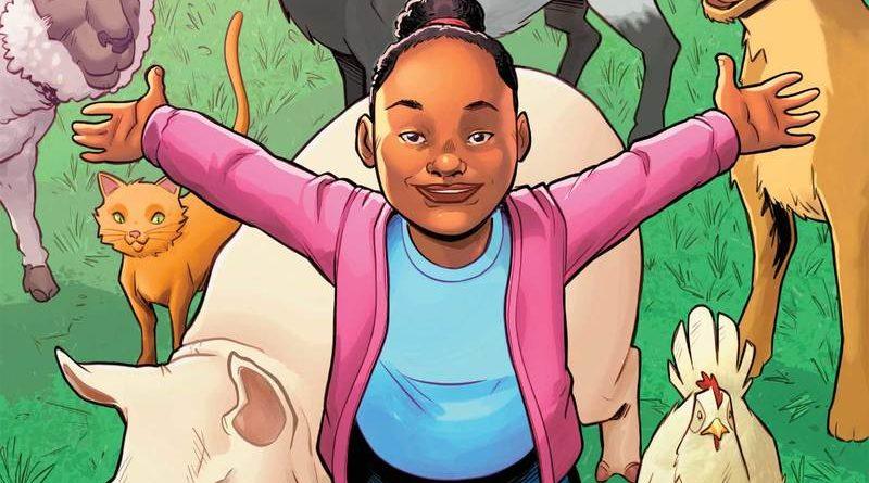 """Activista adolescente vegana """"Genesis Butler"""" es la nueva superheroína de Marvel"""