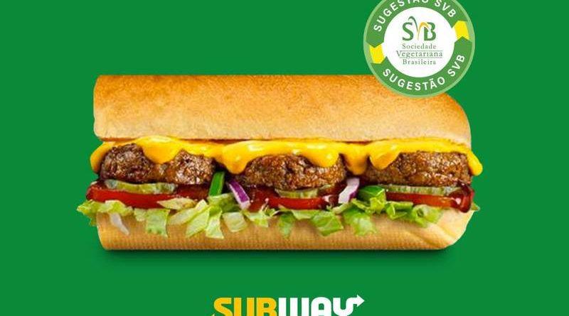 Subway lanza su nuevo sándwich relleno de queso vegano en todo Brasil