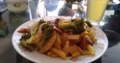 saltado de brocoli vegano receta peru
