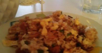 arroz chaufa vegetariano receta peru