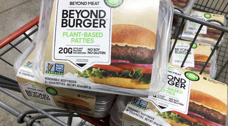 beyond meat baja precios en medio del covid19