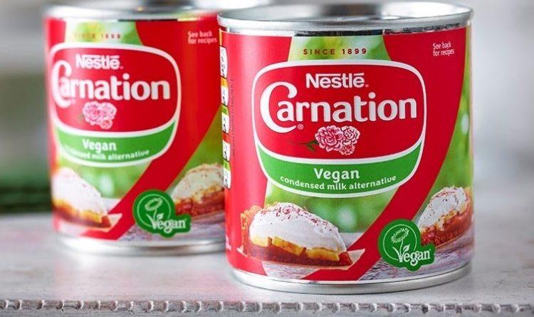 nestle carnation vegano reino unido