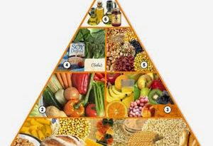 piramide de nutrición vegana