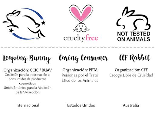 productos no experimentados en animales