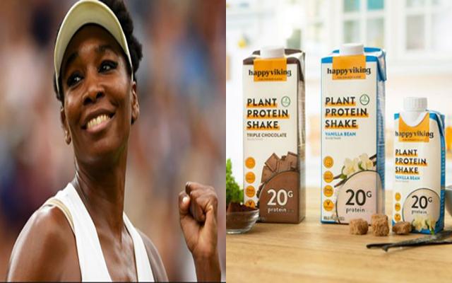 La tenista Venus Williams lanza su marca de proteina vegana «Happy Viking»