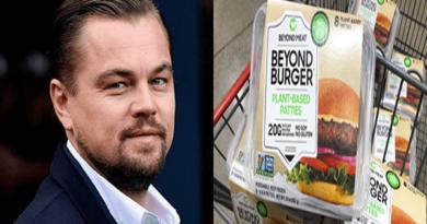 Leonardo Dicaprio pide a sus fans reemplazar la carne con las hamburguesas veganas Beyond